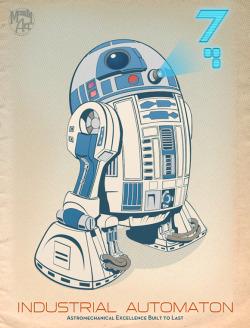 R2 Industrial Automaton Print