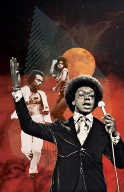 lexxdigs:  Don Cornelius x Soul Train Tribute - digital collage for DJ Soul.Profess, Oakland - 02.10.12.