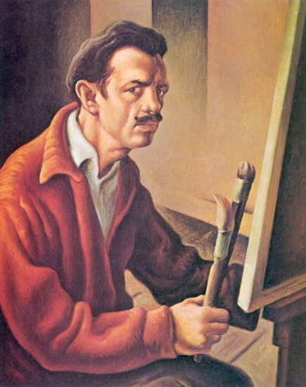 Thomas Hart Benton, Self-Portrait