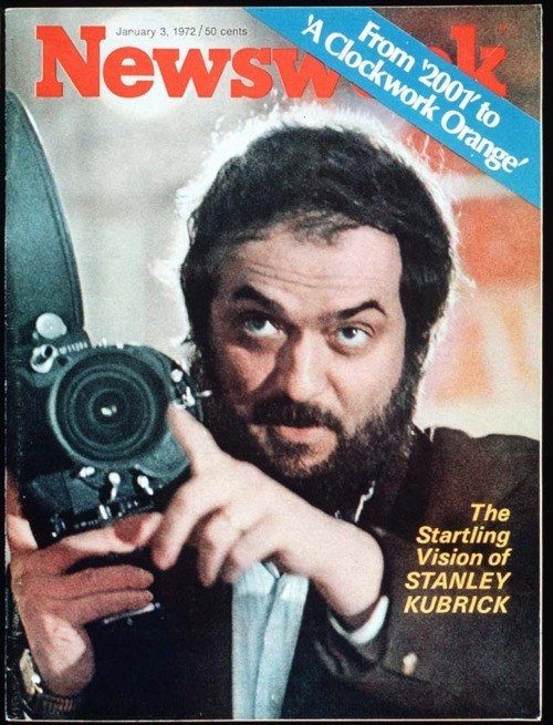 harharhar:  Fun fact: Stanley Kubrick shot his own Newsweek cover photo