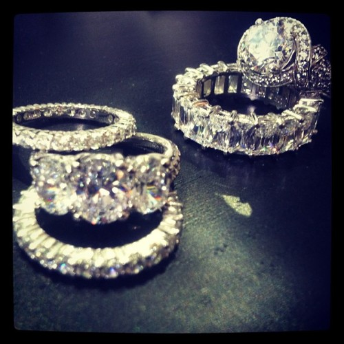 Ahhhh….diamonds make me happy.   (Taken with instagram)