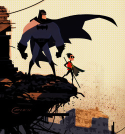 jaymug:  Batman & Robin by Colin Fix