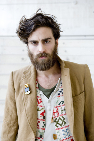 amazing hair, beard, everything