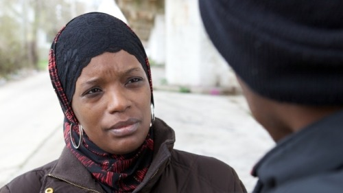 Ameena Matthews, a violence interrupter with the Chicago organization  CeaseFire, mediates disputes to prevent gang violence from escalating. She's one of the people profiled in the documentary The Interrupters, which will air on Frontline later this week.