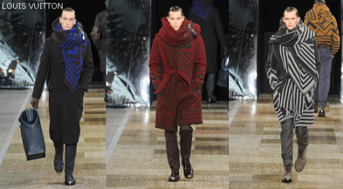 Louis Vuitton Men Inverno 2012