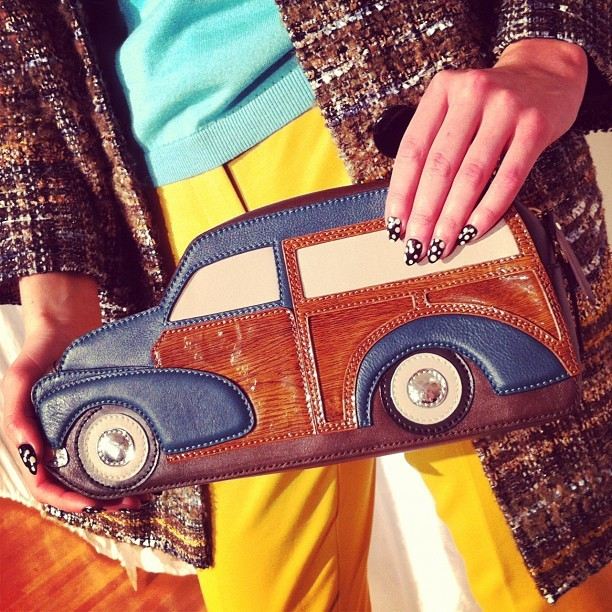 Vroom vroom obsessed cc @katespadeny  (Taken with instagram)
