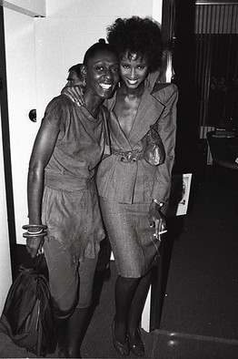 #NYFW Iman and Bethann Hardison at a fashion party in 1977. Photo by Dustin Pittman via The Wall Street Journal.