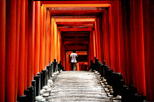 Fushimi Inari by Fon-tina on Flickr.