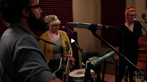 "Pearl and the Beard recently stopped by BreakThru Radio to record a video session of them ""Prodigal Daughter"" (watch the video here).  It's the latest single from Killing the Darlings, and the extended release is going to include the original recording, a new video, plus three brand new, never before heard solo songs by each band member. If that's not enough, the band is playing a super special single release show at Music Hall of Williamsburg on February 16th (that's less than one week away, people!). 02.16 Music Hall of Williamsburg Single Release Show, 9pm (Brooklyn, NY) [ TIX ] For more tour dates, click here."