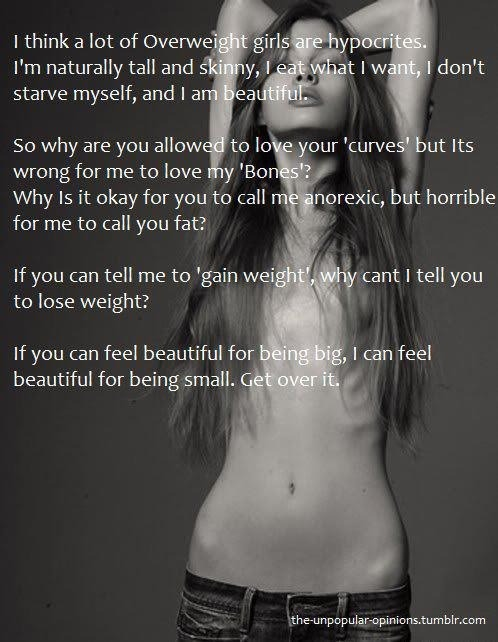 Body Image comes in many ways!