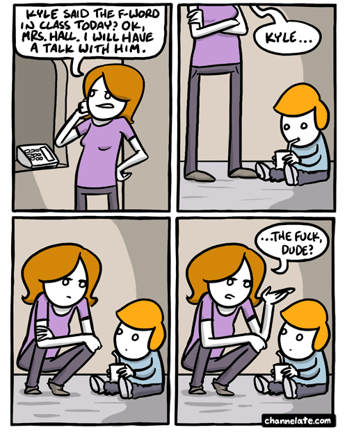 purpleneenee:  bittercore:  omg  I'm afraid this might be me as a parent