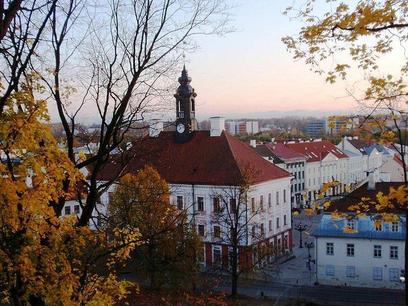 Tartu, Estonia (by Flying Saucer)