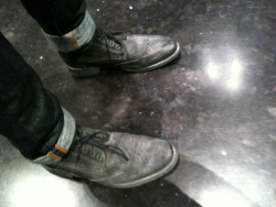 dapperlane:  New Bed Stu wingtips. These push the limits for me, but they're growing.