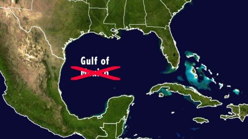 thenoobyorker:  zainyk:  Mississippi Bill Changes Name of 'Gulf of Mexico' to 'Gulf of America'  I want out of this life, how did I do?  While we're at it, let's change the name of New Mexico to New America. And Mexican food to Southwestern American food. (On the plus side, the proposed name change it would only change the name of the portion of the Gulf of Mexico that touches Mississippi, which is extremely small.) EDIT: Great news, everyone! Fox News presented this satirical bill as a straight news story.