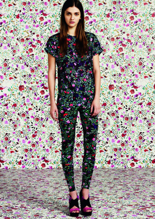 flarefashion:      Mary Katrantzou for Topshop / Photo Courtesy of Topshop Click here to see the entire collection!