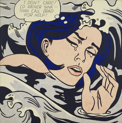 rustybreak:    Drowning Girl | Roy Lichtenstein    yup.