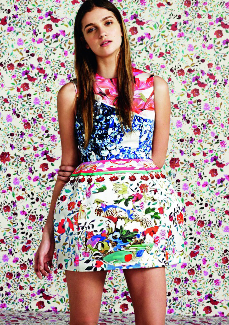 Mary Katrantzou for Topshop / Photo Courtesy of Topshop Click here to see the entire collection!