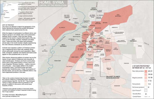 A Map of Homs, Syria
