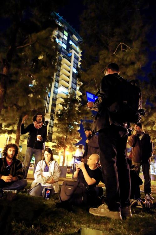 Photos of #occupySD at Children's Park from last night, where GA was held!  Photos by Plantz Fotography.