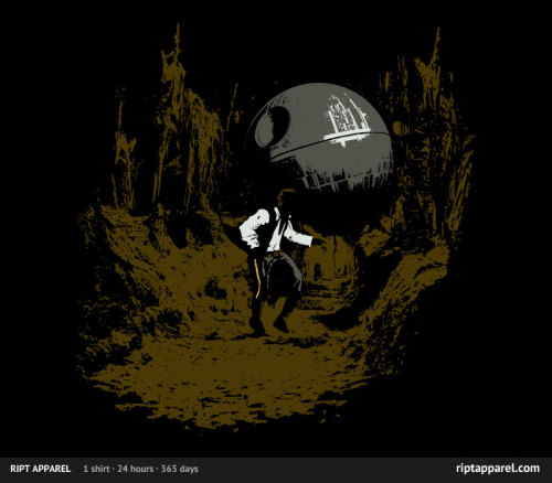 Raiders of the Galactic Empire Just over 12 hours until this shirt is gone forever!