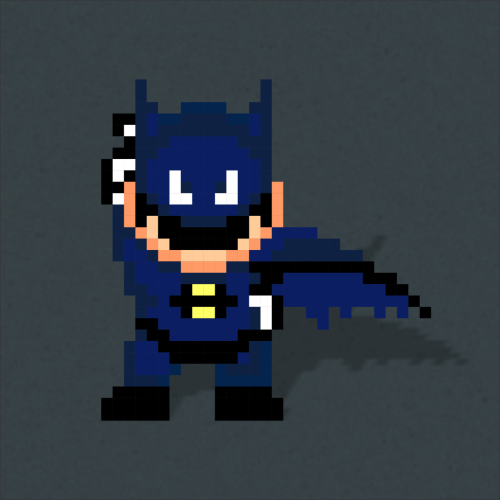 I'm Vengeance… I am The Night… I am BATMARIO! Batmario by Kody Christian [Me]