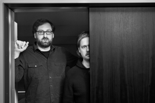 Tim and Eric in wonderful black & white at The James hotel in Chicago this morning. Lenny Gilmore ©