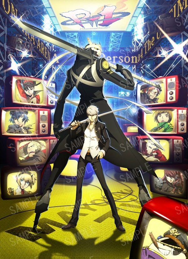 A Little Bit On The Persona Side: Sample artwork by Shingenori Soejima for the upcoming Persona 4: The Ultimate in Mayonaka Arena fighting game developed by Arc System Works. (Via Siliconera)