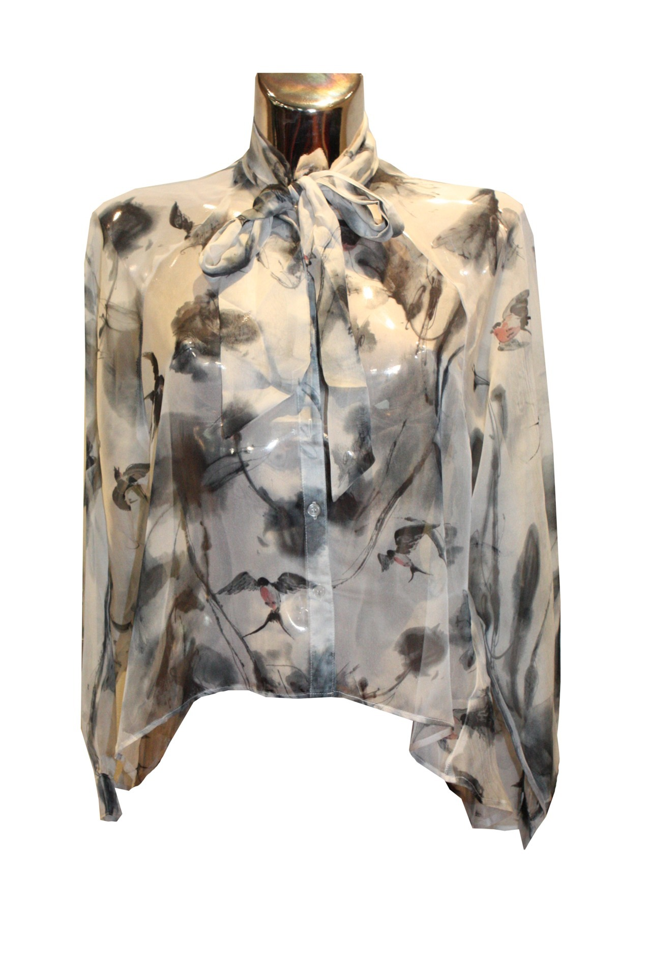 Bird print blouse £45. Available in sizes 8-14.
