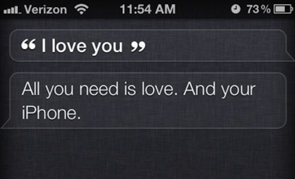 Siri is our (and Spike Jonze's) valentine.