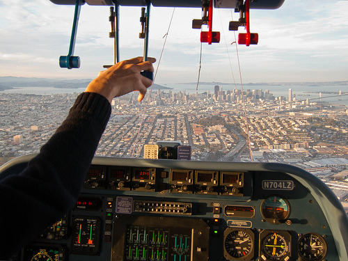 Approaching San Francisco (by Nelson Minar) I love this. Via Marc