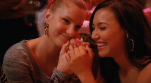 Brittana from new BTS.