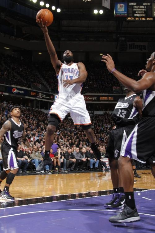 (via Oklahoma City Thunder Basketball - Thunder Photos - ESPN) Thunder Up!