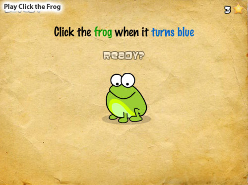 beplayed:  Play Click the Frog | Free Online Games
