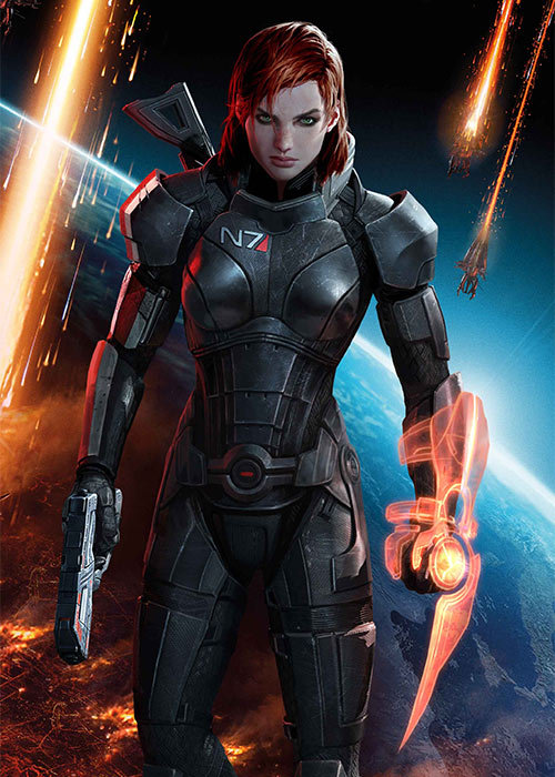 gamefreaksnz:  BioWare drop Mass Effect 3 Female Shepard Trailer  BioWare mark 'FemShep Friday' by releasing the first trailer of the game to star the new-and-improved Female Commander Shepard. Pre-order Mass Effect 3 Get a $10 Amazon.com Credit Plus an M55 Argus Assault RiflePre-order Mass Effect 3 and get the M55 Argus Assault Rifle and a $10 promotional credit toward the purchase of items shipped and sold by Amazon.comShips: March 06, 2012