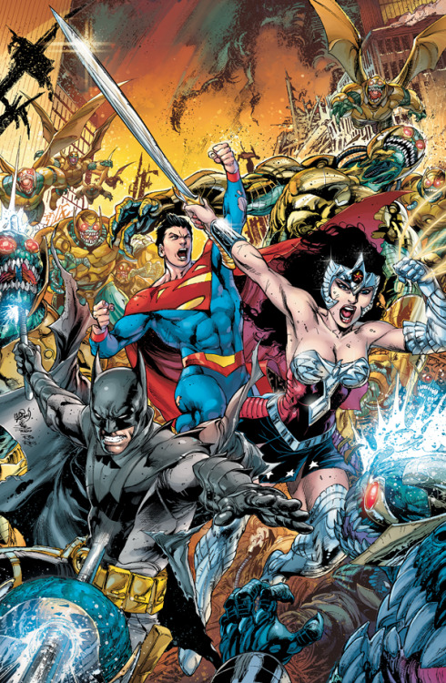 dcuniversepresents:  Earth Two #1 Variant Cover by Ivan Reis