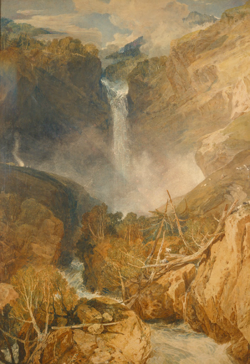 The Great Falls of the Reichenbach, by William Turner (1804) Recovered by Sherlock in The Reichenbach Fall  27 x 40 inches. Portrait. £25 - £145 (depending on size) / Prints available from here.