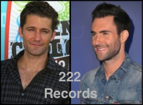 "Maroon 5's lead singer Adam Levine started his own recording label called ""222,"" and already signed his first artist, Matthew Morrison, better known to ""Glee"" fans as Mr. Schu or Will Schuester.  Levine will release Morrison's second album in Spring 2012.  ""Starting my own label has been a longtime goal of mine, and I am thrilled to be at the point in my career where it is finally happening,"" Levine told Billboard magazine.  As a coach on ""The Voice,"" Levine is no amateur to discovering talent, and I am excited to see what other big names come out of 222 Records."