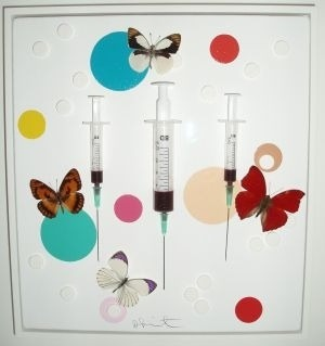 Fascination morbide. ———————————- Happy (2008) Damien Hirst.