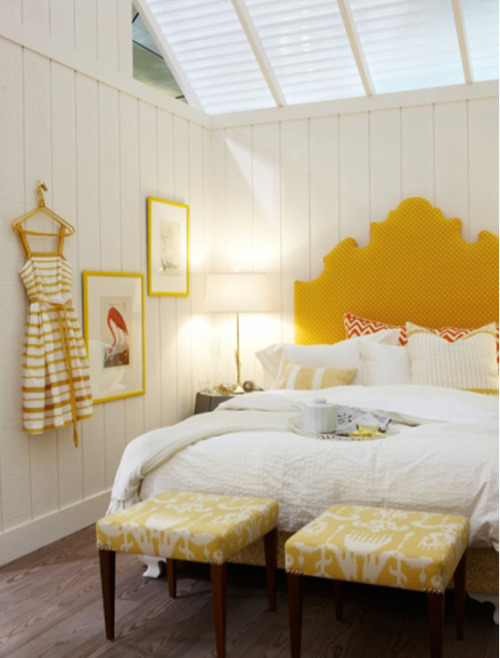 homedesigning:   Yellow Bedroom Inspiration | Click through for more