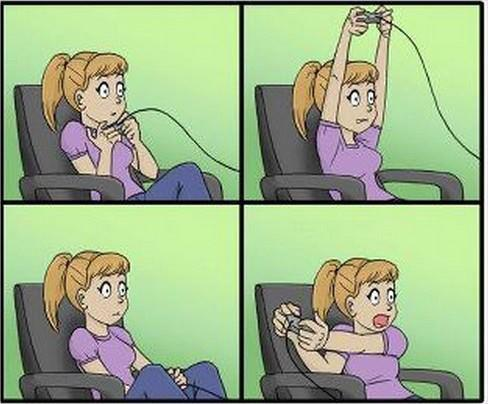 liliethriot:  Yep!, this is me!  gamer girls you soo cutes