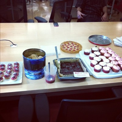 #bakewars! Check the stiff competition!  (Taken with Instagram at charitybuzz)
