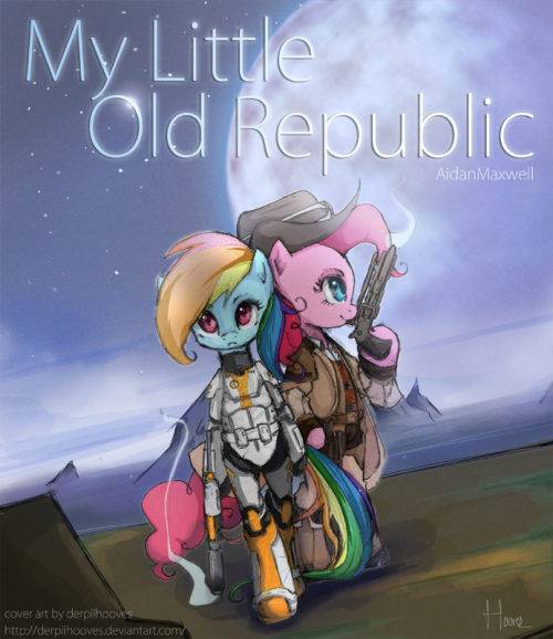 buckyeahmylittlepony:  My Little Old Republic by *DerpiiHooves