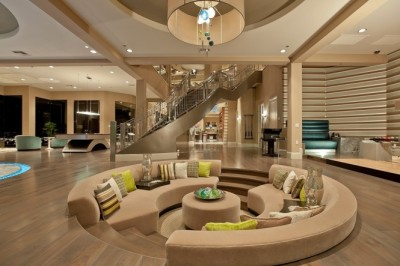 homedesigning:   Conversation Pits & Sunken Sitting Areas
