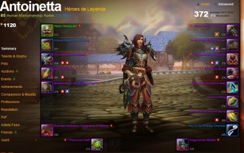 Gearing progress! http://eu.battle.net/wow/es/character/dun-modr/Antoinetta/simple