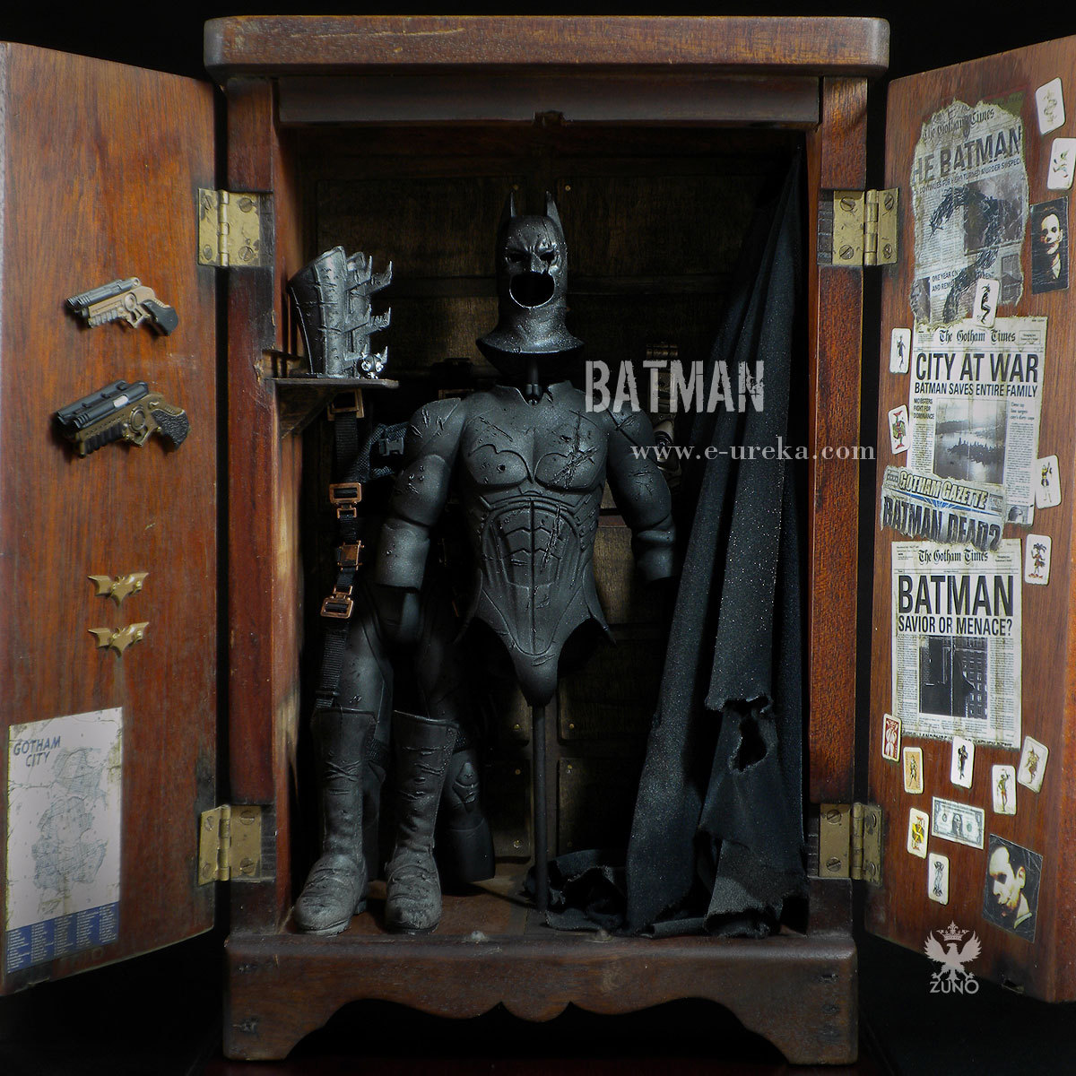 zunoart:   BATMAN 1/6th Scale Customized by Zunohttp://www.e-ureka.com