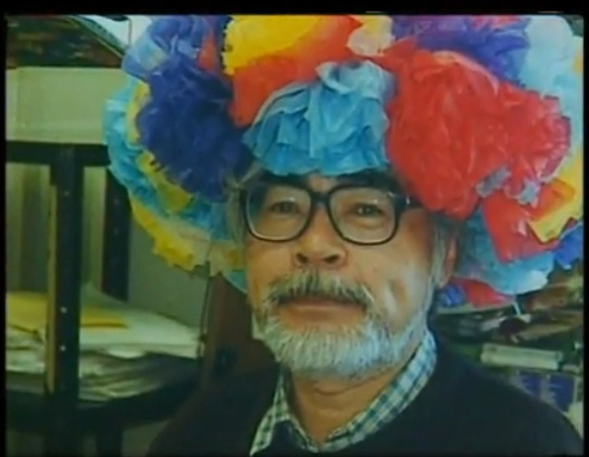 Squeeeeee! Hayao Miyazaki, on his 60th birthday