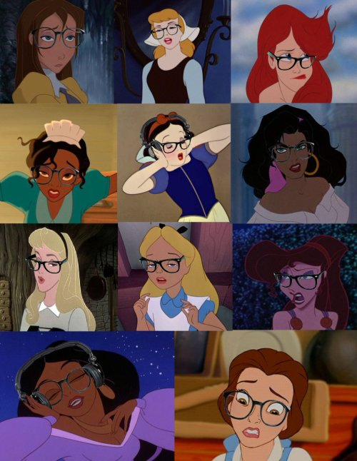 lost-in-wonder:  Hipster Disney