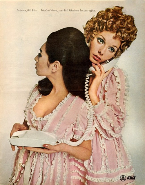 AT&T 1968 - Fashions by Bill Blass