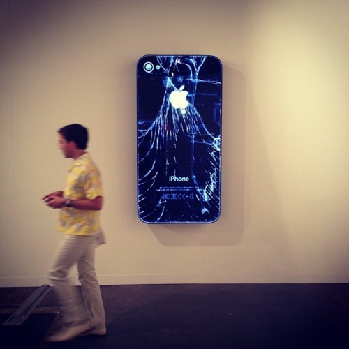Que problemão… via: Doug Aitken (Victoria Miro) at Art Basel Miami