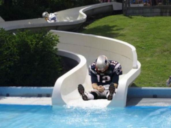 bradying:  Brady and Romo together, but even when they participate in fun activities they are still in the same funk